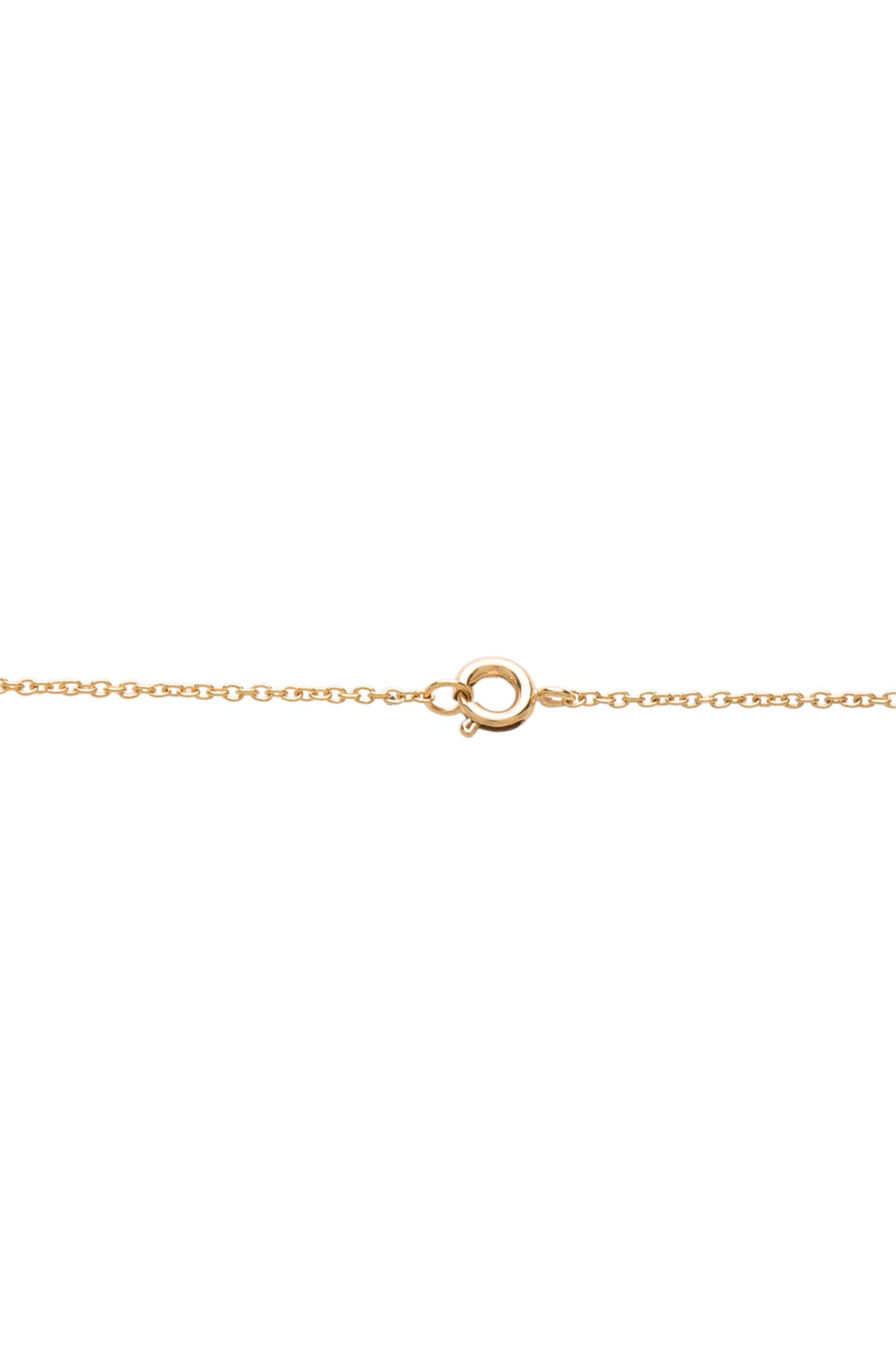 Image 2 of Maison Margiela Stacked Ring Necklace in Gold