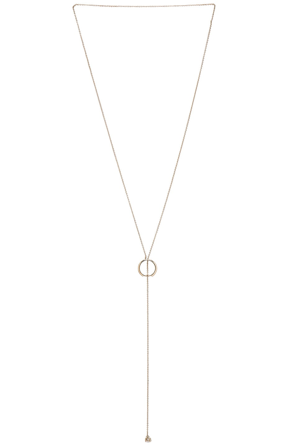 Image 1 of Maison Margiela Circle Chain Necklace in Gold