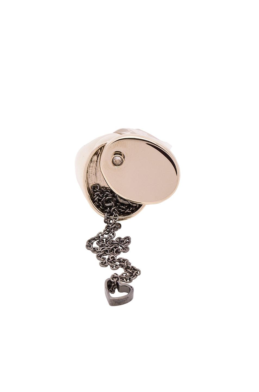 Image 1 of Maison Margiela Ring & Bracelet Set in Gold