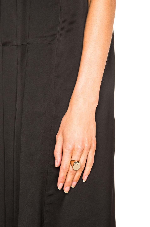 Image 2 of Maison Margiela Ring & Bracelet Set in Gold