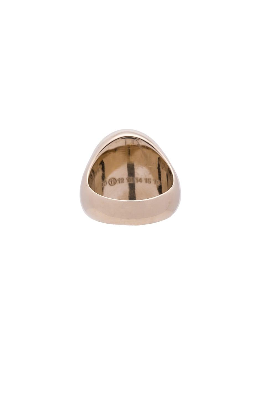 Image 5 of Maison Margiela Ring & Bracelet Set in Gold