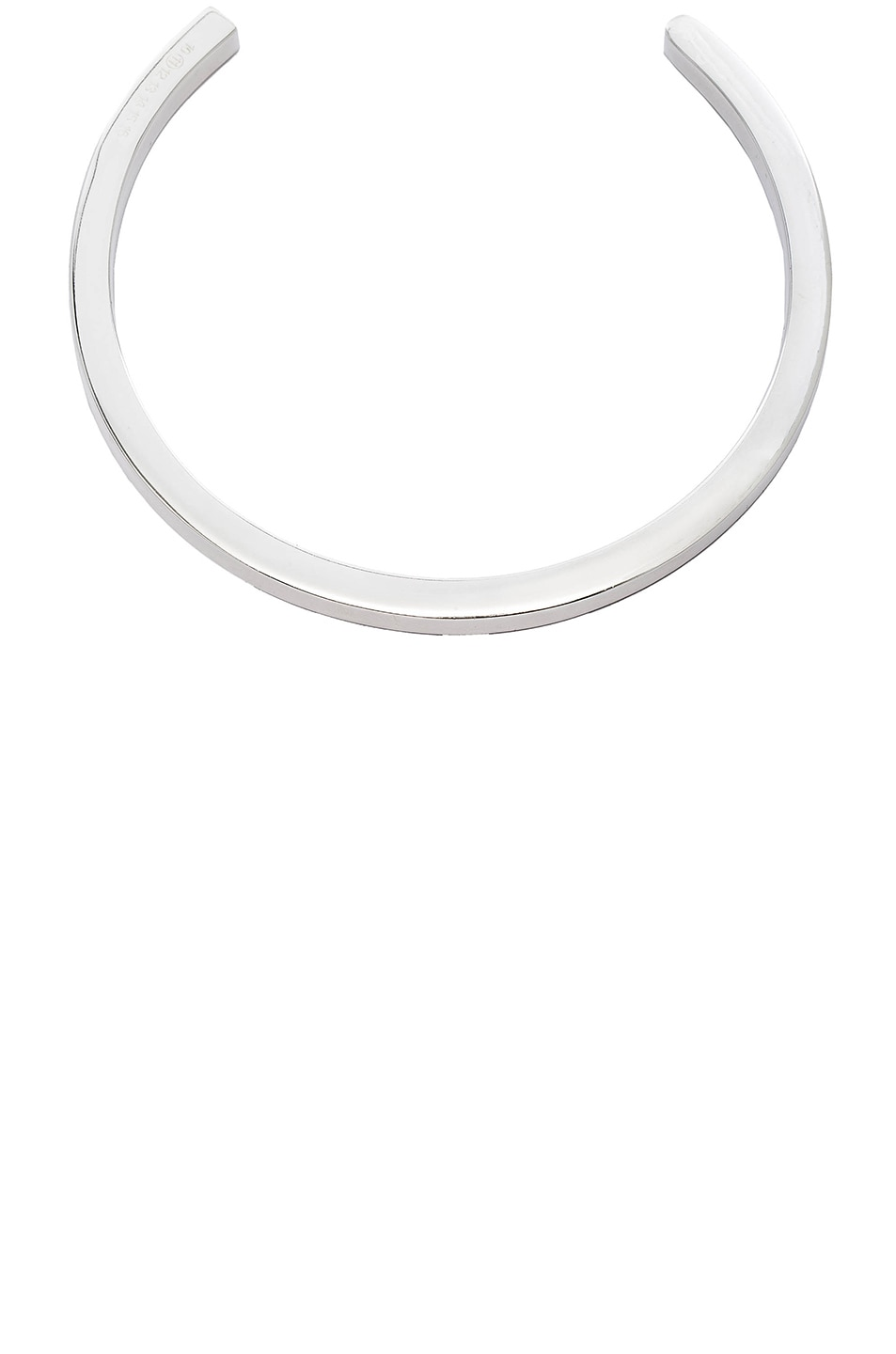 Image 1 of Maison Margiela Choker in Silver