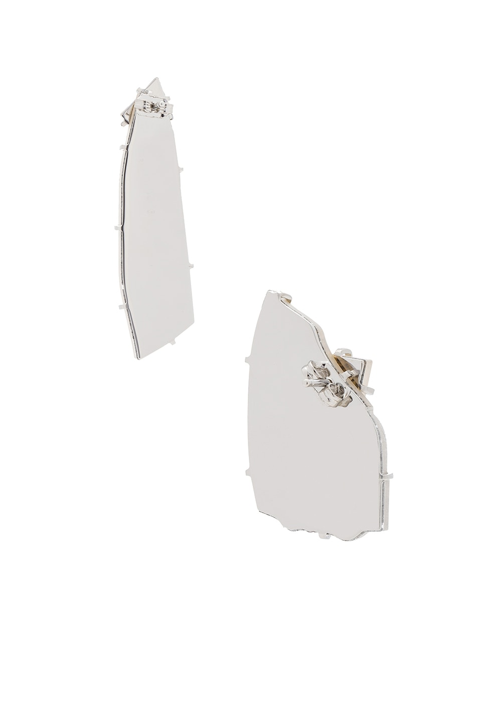 Image 3 of Maison Margiela Earrings in Rhodium