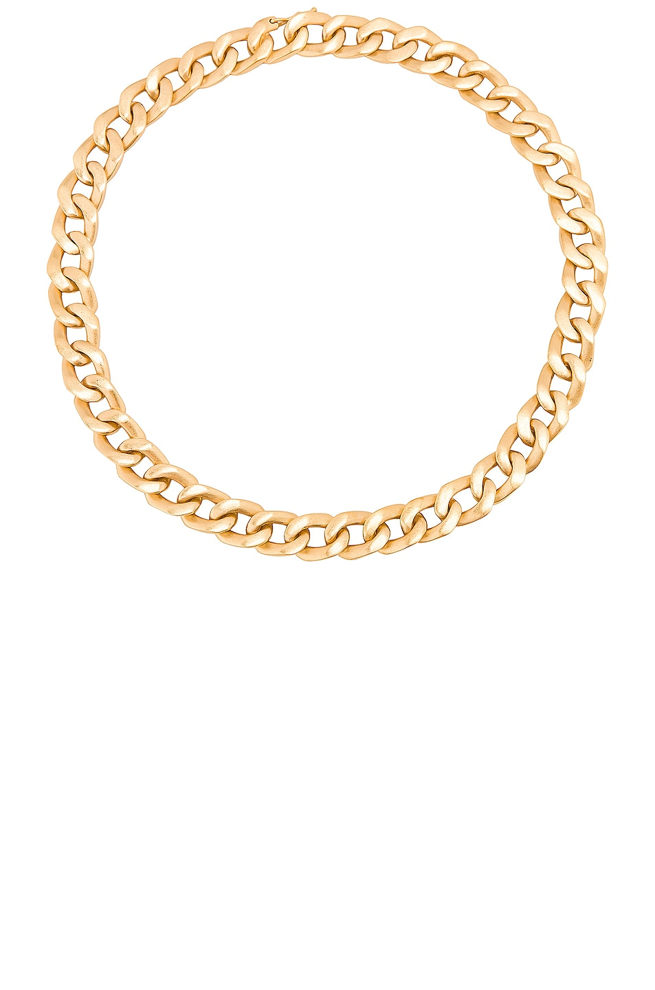 Image 1 of Maison Margiela Chain Necklace in Yellow Gold Plating