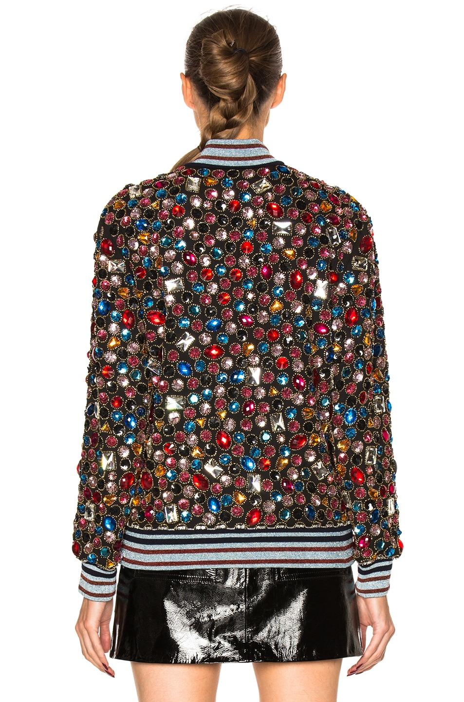 Image 5 of Maison Margiela Embroidered Bomber Jacket in Multi