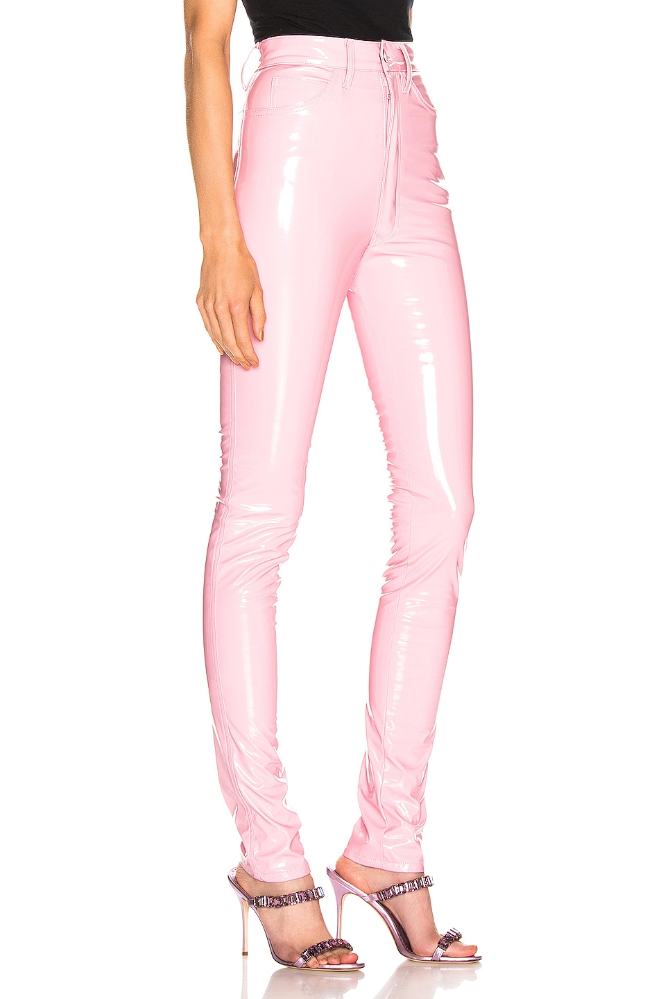 Image 2 of Maison Margiela Vinyl Pant in Pink