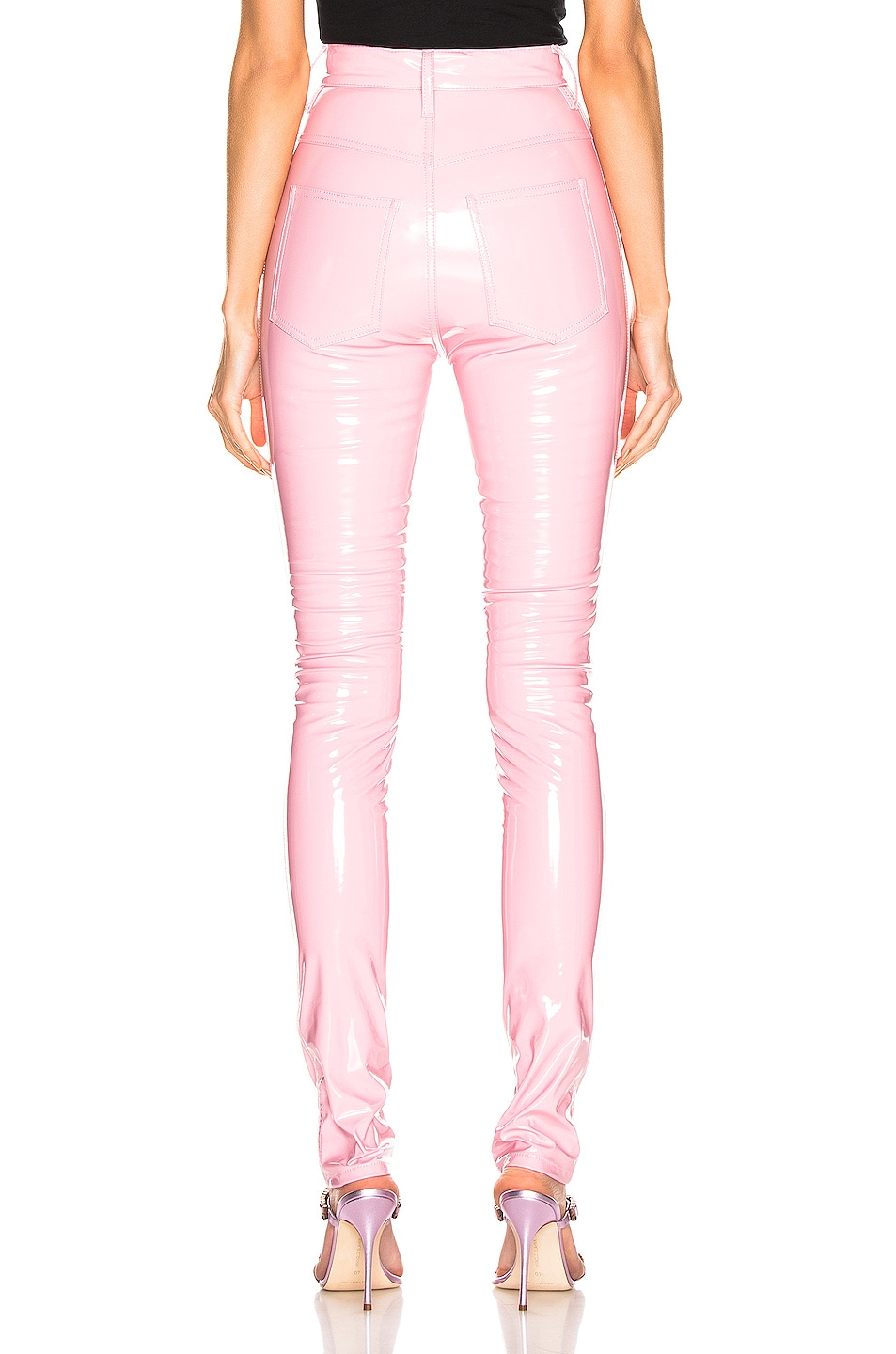 Image 3 of Maison Margiela Vinyl Pant in Pink