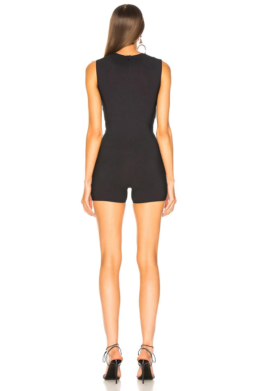Image 4 of Maison Margiela Bodice Cutout Bodysuit in Black