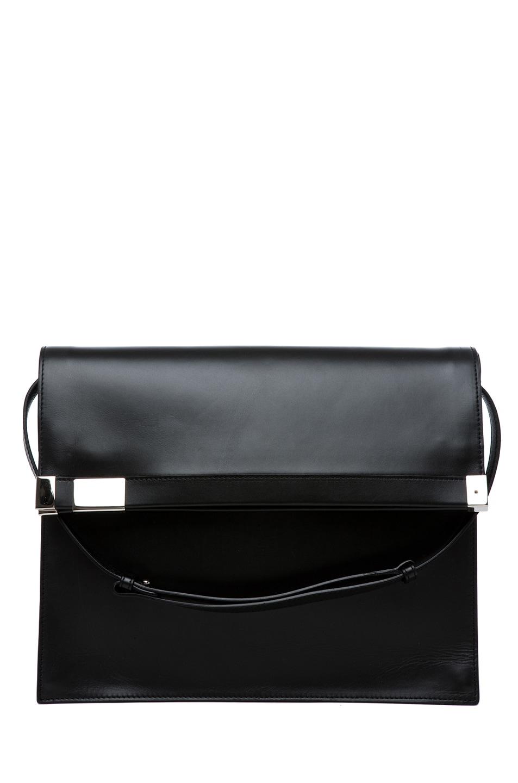 Image 1 of Maison Margiela Flap Over Shoulder Bag in Black