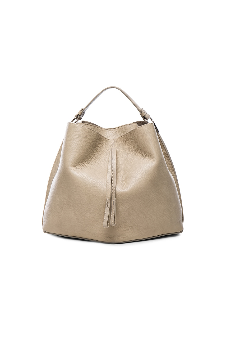 Image 1 of Maison Margiela Leather Satchel in Beige