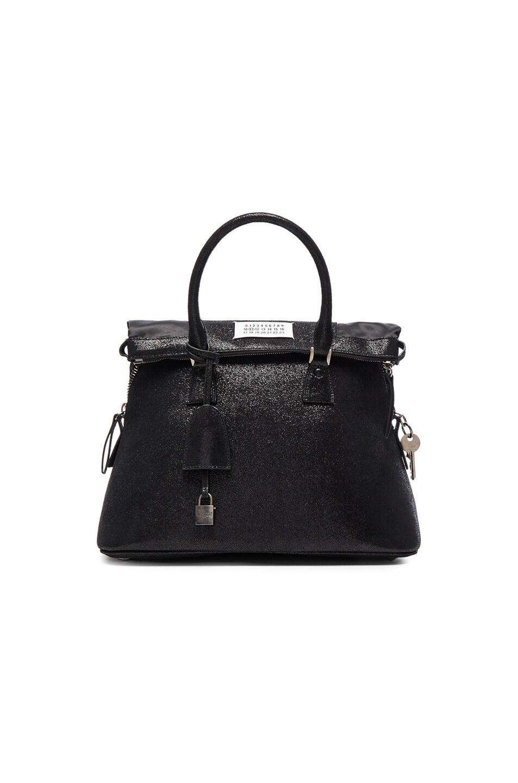 Image 1 Of Maison Margiela Glitter Bag In Black