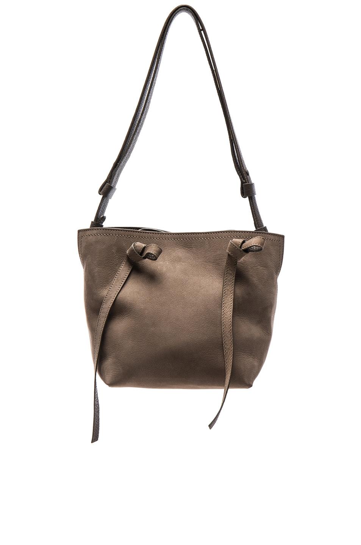 Image 1 of Maison Margiela Suede Shoulder Bag in Bronze
