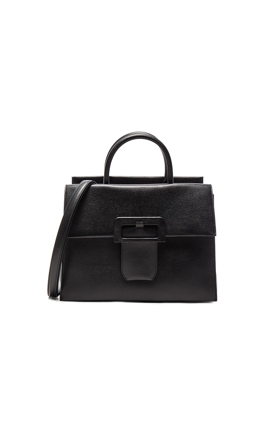 Image 1 of Maison Margiela Buckle Bag in Black