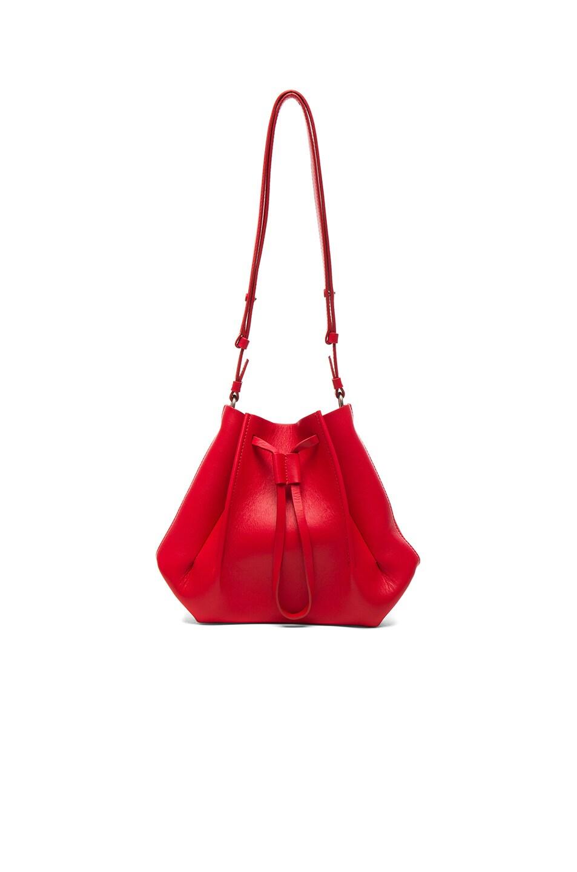 5b426052f86d8 Image 1 of Maison Margiela Small Bucket Bag in Poppy