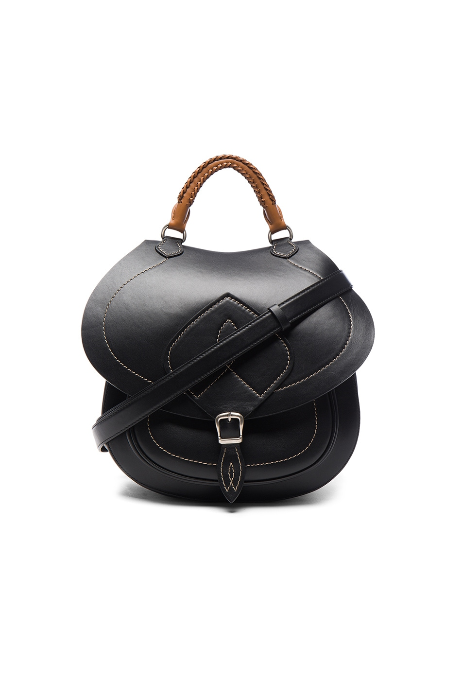 Image 1 of Maison Margiela Satchel Bag in Black