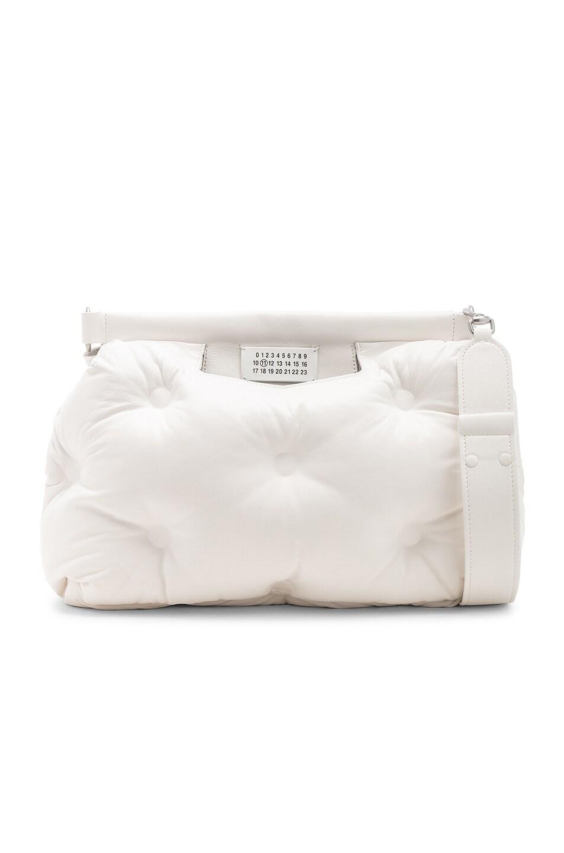 Image 1 of Maison Margiela Glam Slam Shoulder Bag in White