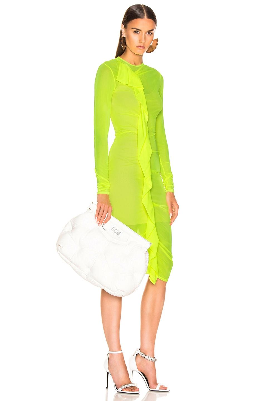 Image 2 of Maison Margiela Glam Slam Shoulder Bag in White