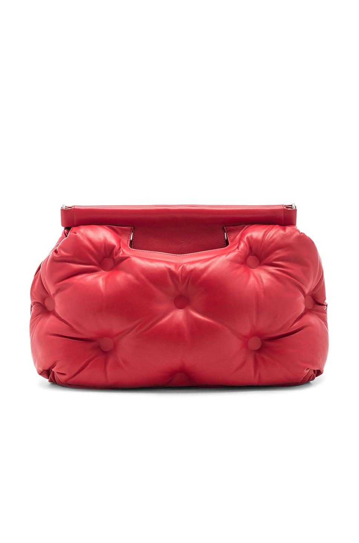 Image 3 of Maison Margiela Shoulder Bag in Haute Red