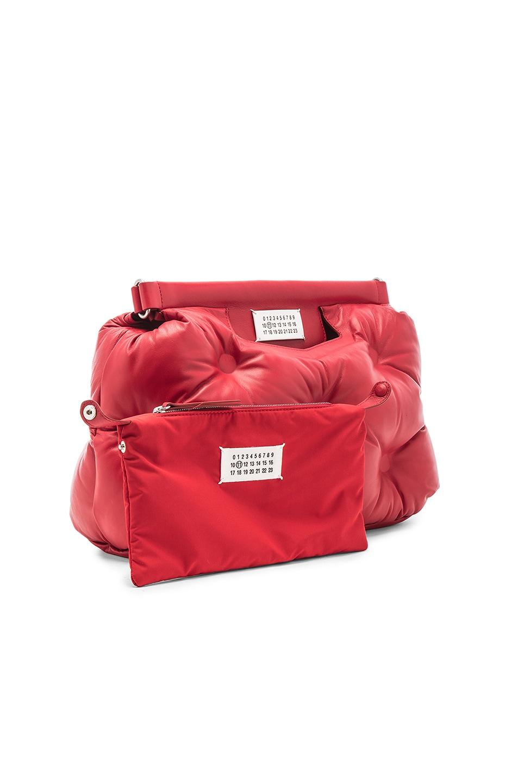 Image 4 of Maison Margiela Shoulder Bag in Haute Red