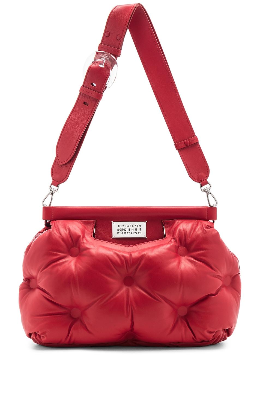 Image 6 of Maison Margiela Shoulder Bag in Haute Red