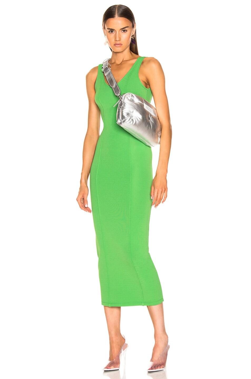 Image 2 of Maison Margiela Glam Slam Number Crossbody Bag in Silver