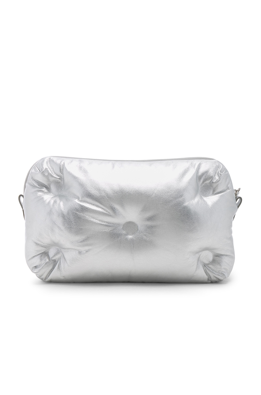Image 3 of Maison Margiela Glam Slam Number Crossbody Bag in Silver