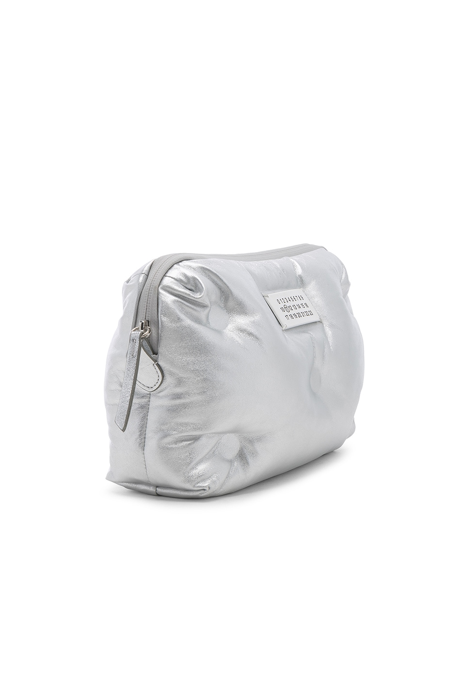 Image 4 of Maison Margiela Number Crossbody Bag in Silver
