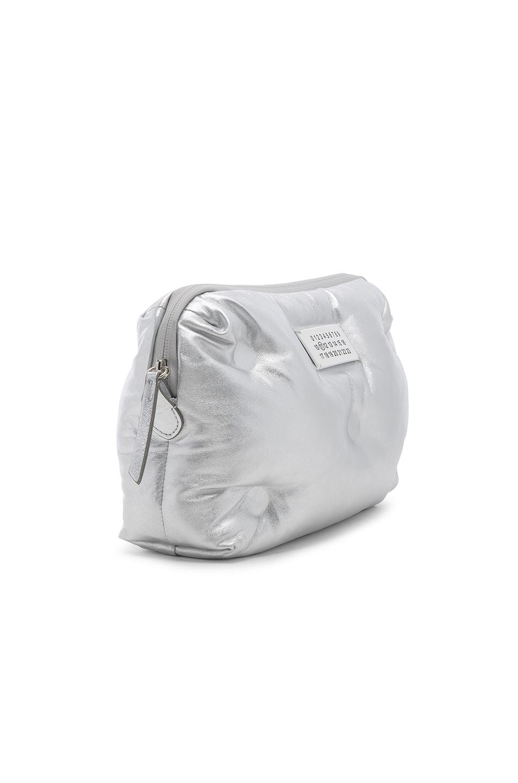 Image 4 of Maison Margiela Glam Slam Number Crossbody Bag in Silver