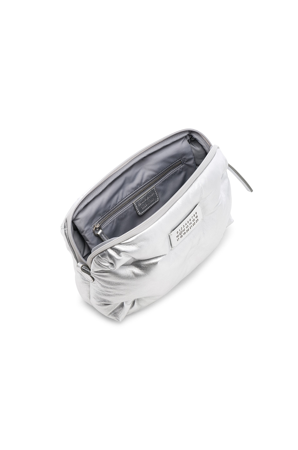 Image 5 of Maison Margiela Number Crossbody Bag in Silver