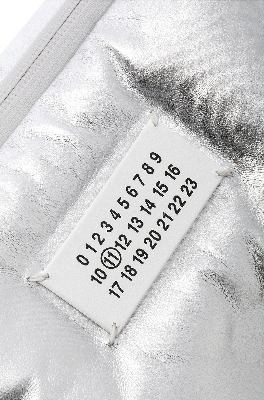 Image 7 of Maison Margiela Glam Slam Number Crossbody Bag in Silver