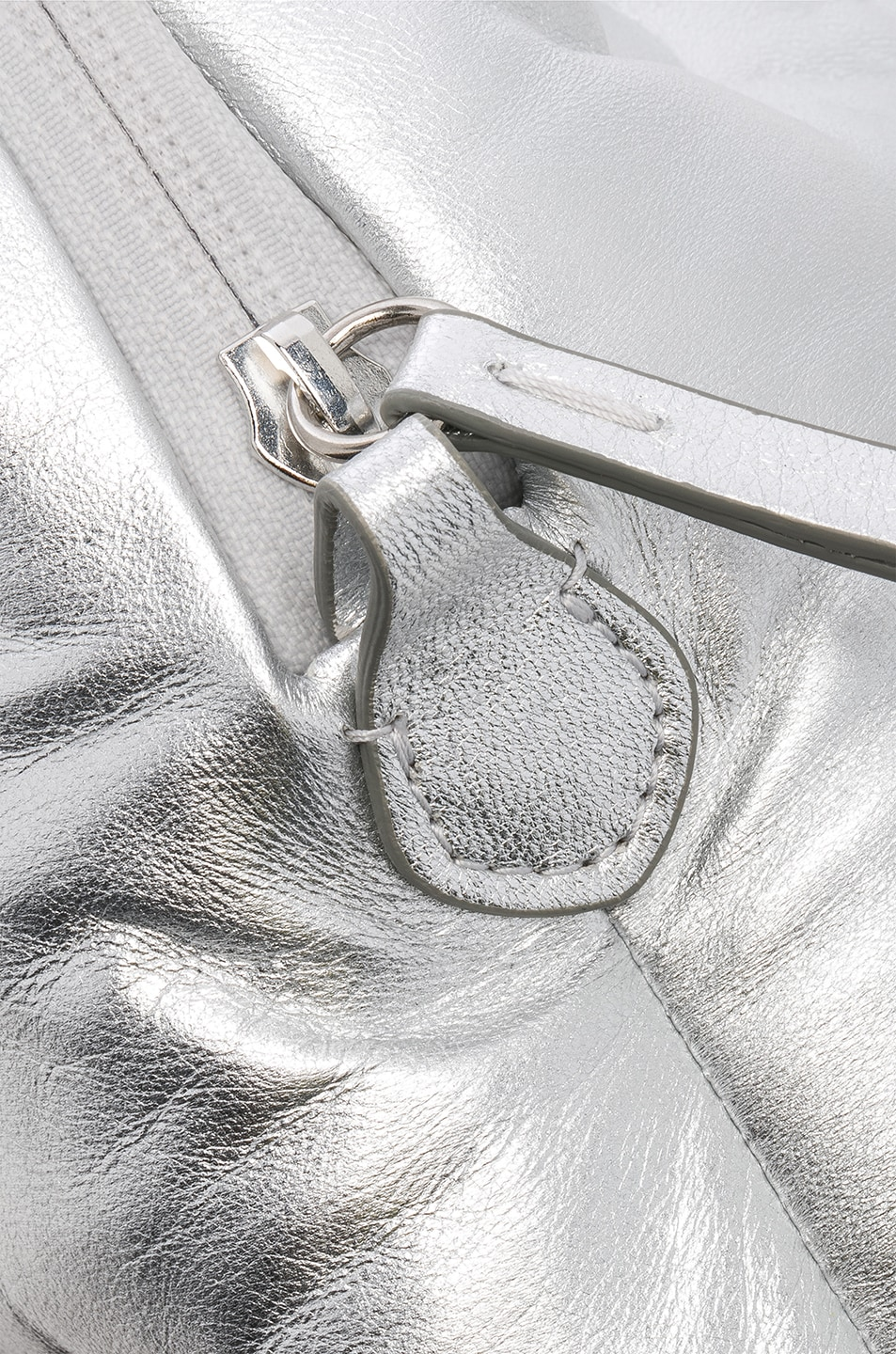 Image 8 of Maison Margiela Number Crossbody Bag in Silver