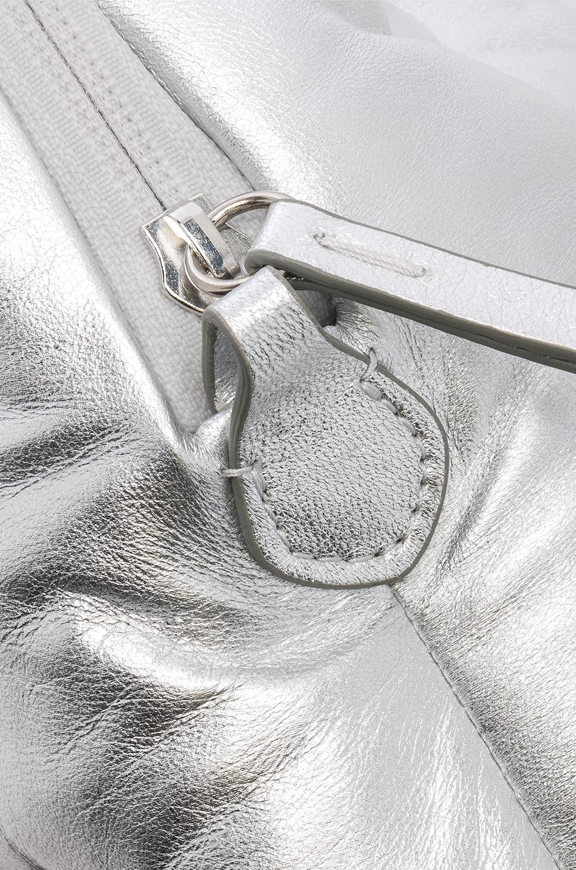 Image 8 of Maison Margiela Glam Slam Number Crossbody Bag in Silver