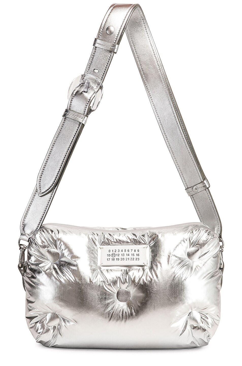 Image 5 of Maison Margiela Glam Slam Crossbody Bag in Silver