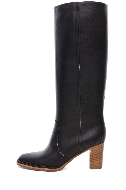 Image 1 of Maison Margiela Knee High Boot in Black