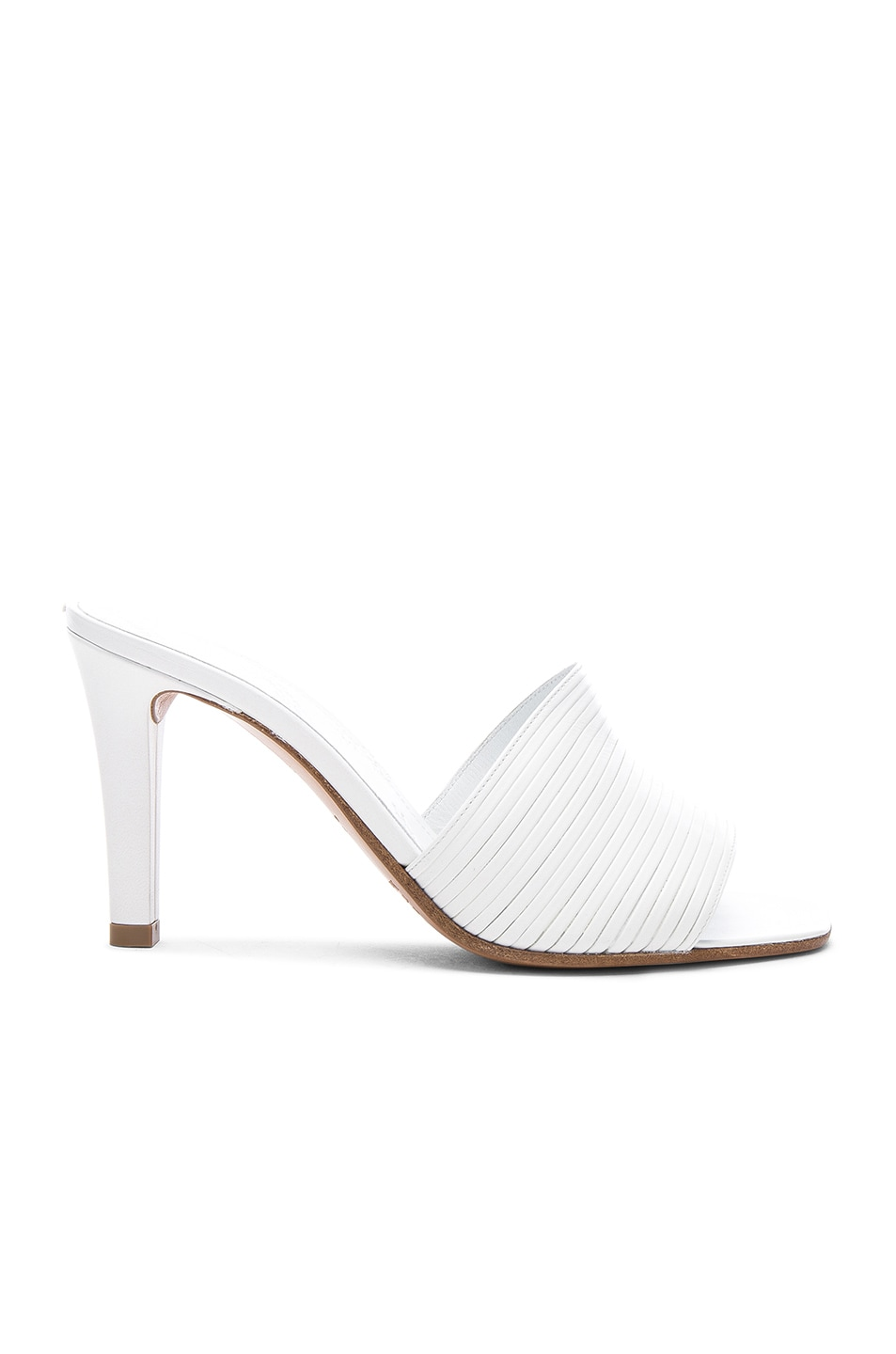Image 1 of Maison Margiela Leather Heels in White