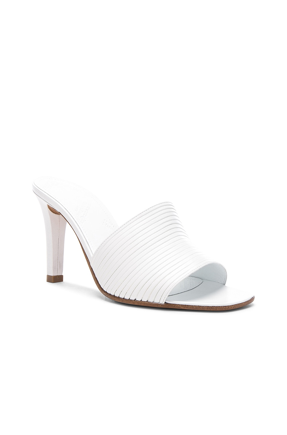 Image 2 of Maison Margiela Leather Heels in White