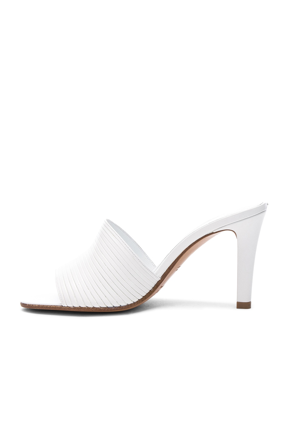 Image 5 of Maison Margiela Leather Heels in White