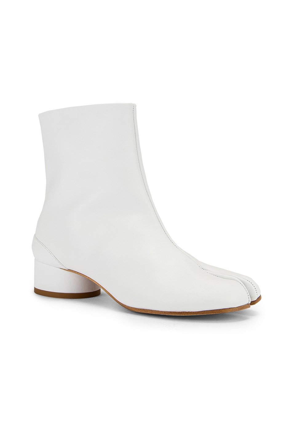 Image 2 of Maison Margiela Tabi Boots in White