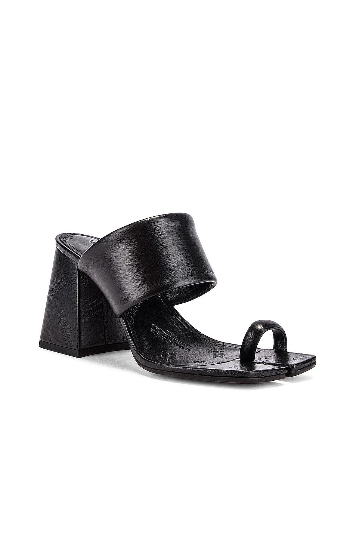 Image 2 of Maison Margiela Tabi Sandals in Black