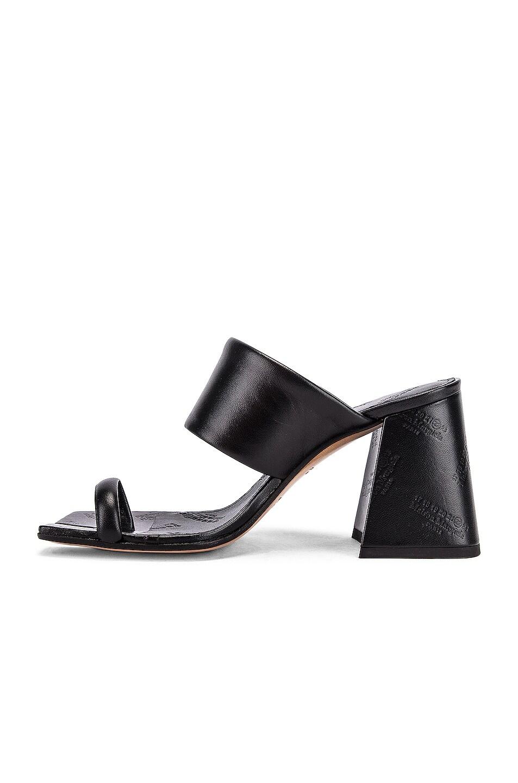 Image 5 of Maison Margiela Tabi Sandals in Black