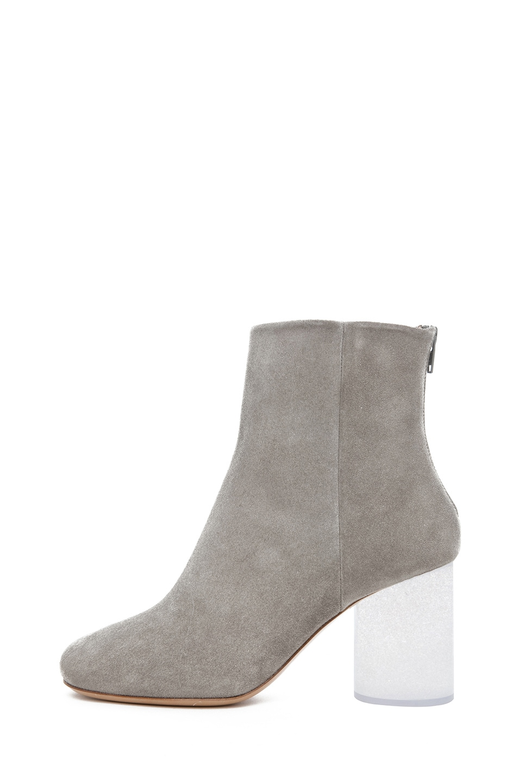 Image 1 of Maison Margiela Plexi Heel Bootie in Grey