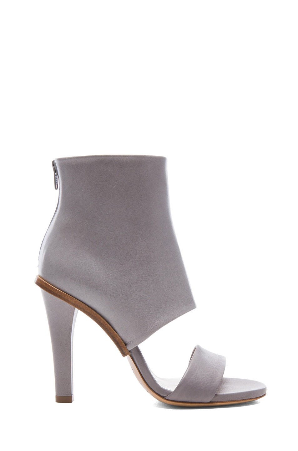 Image 1 of Maison Margiela Leather Heels in Mallow