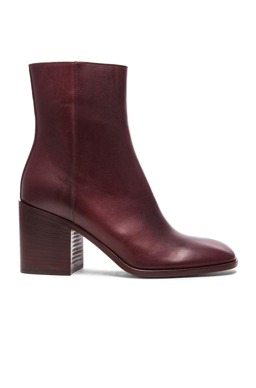 Maison MargielaSquare toe ankle boots