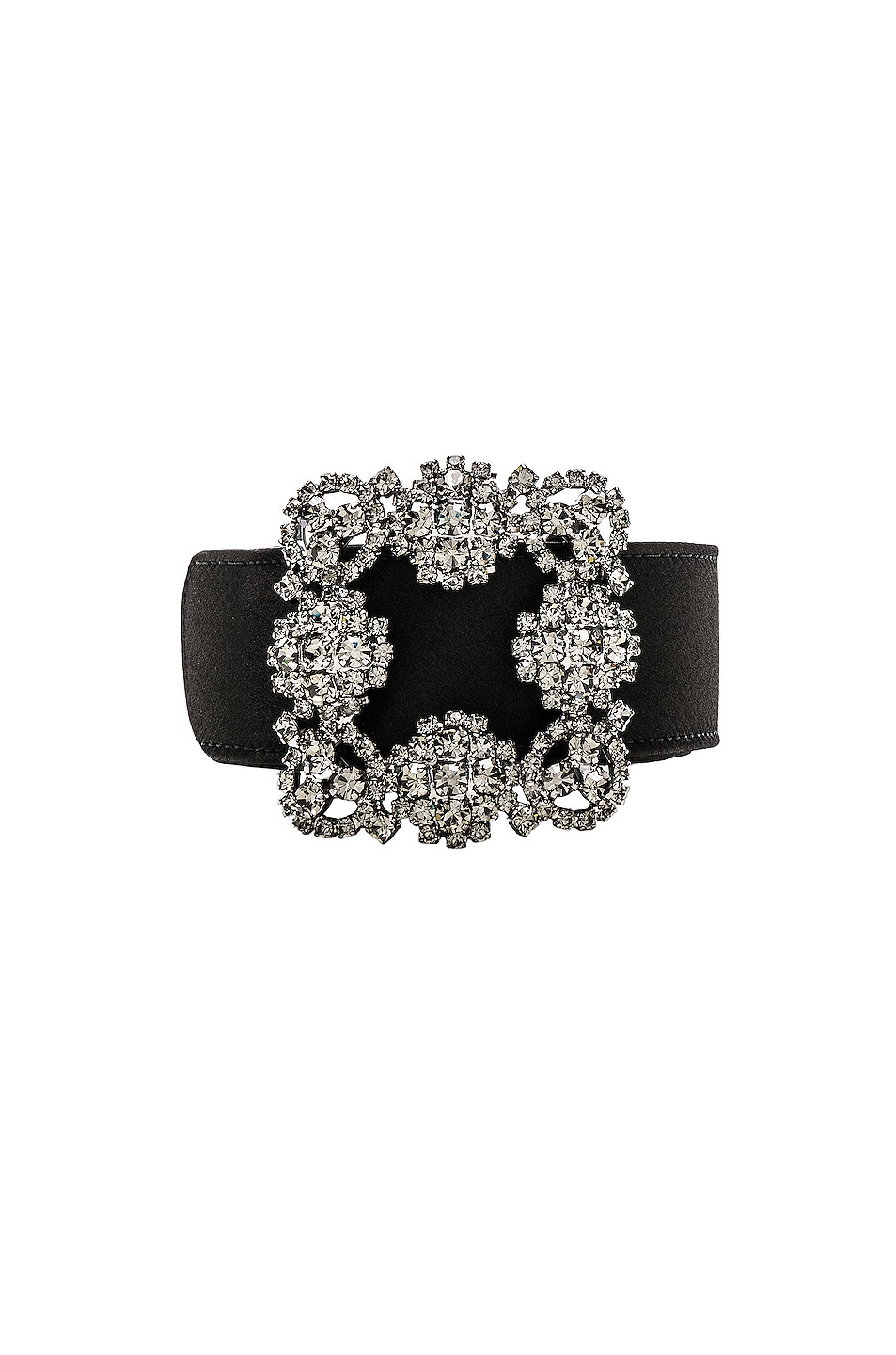 Image 3 of Manolo Blahnik Hangisi Belt in Black
