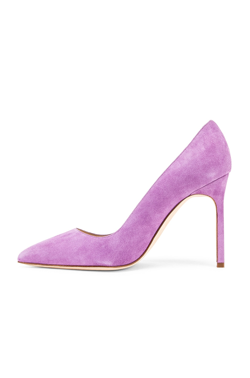 Image 5 of Manolo Blahnik BB 105 Pump in Lilac Purple Suede