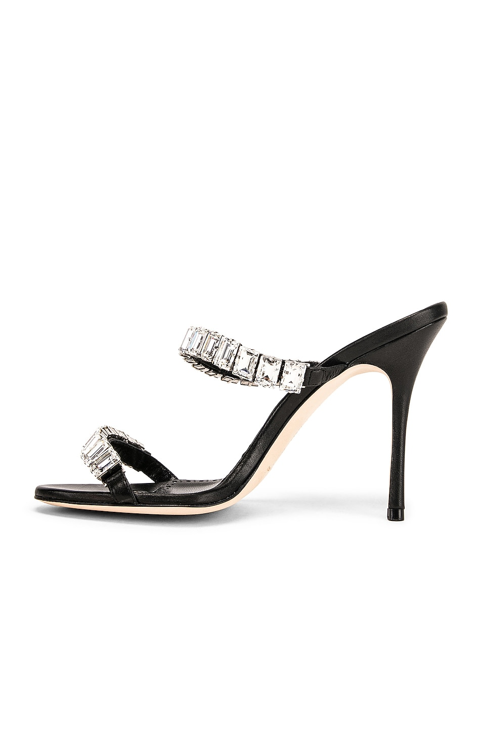 Image 5 of Manolo Blahnik Dallitre 105 Sandal in Nero Nappa