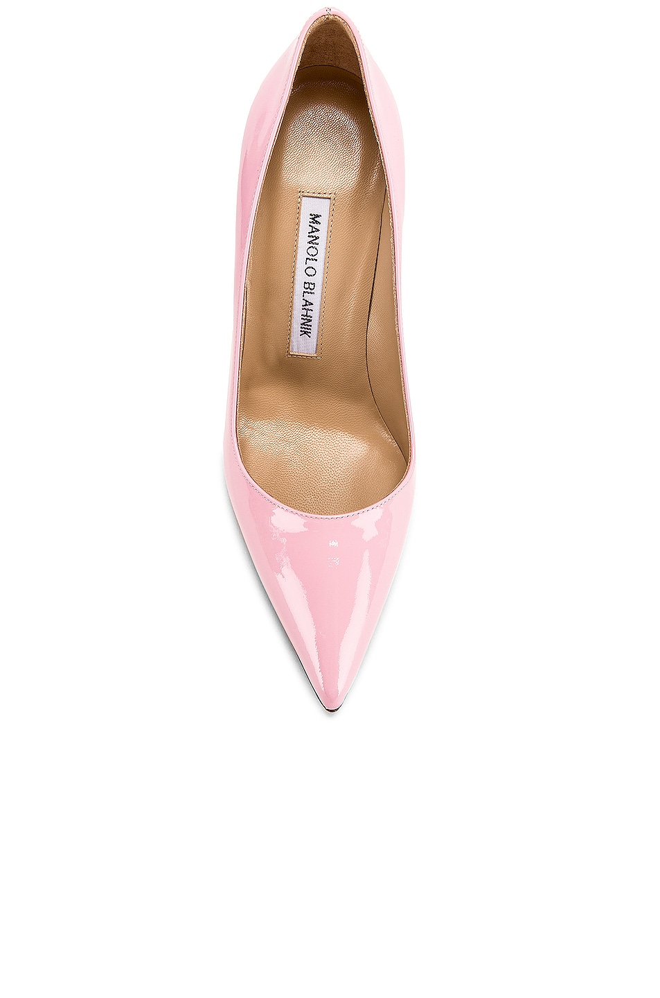 Image 4 of Manolo Blahnik BB Pump in Baby Pink Patent