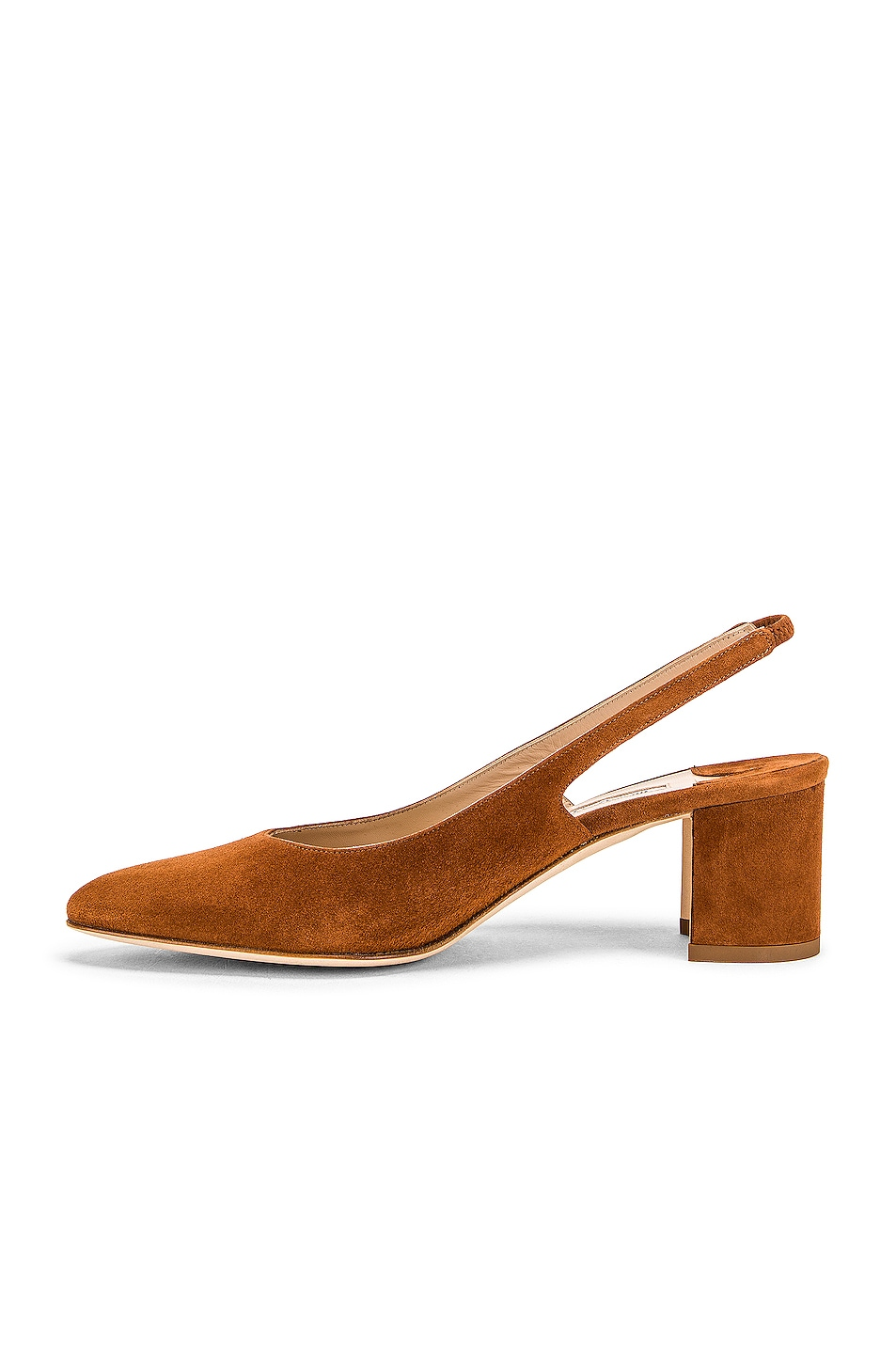 Image 5 of Manolo Blahnik Allura 50 Slingback Heel in Luggage