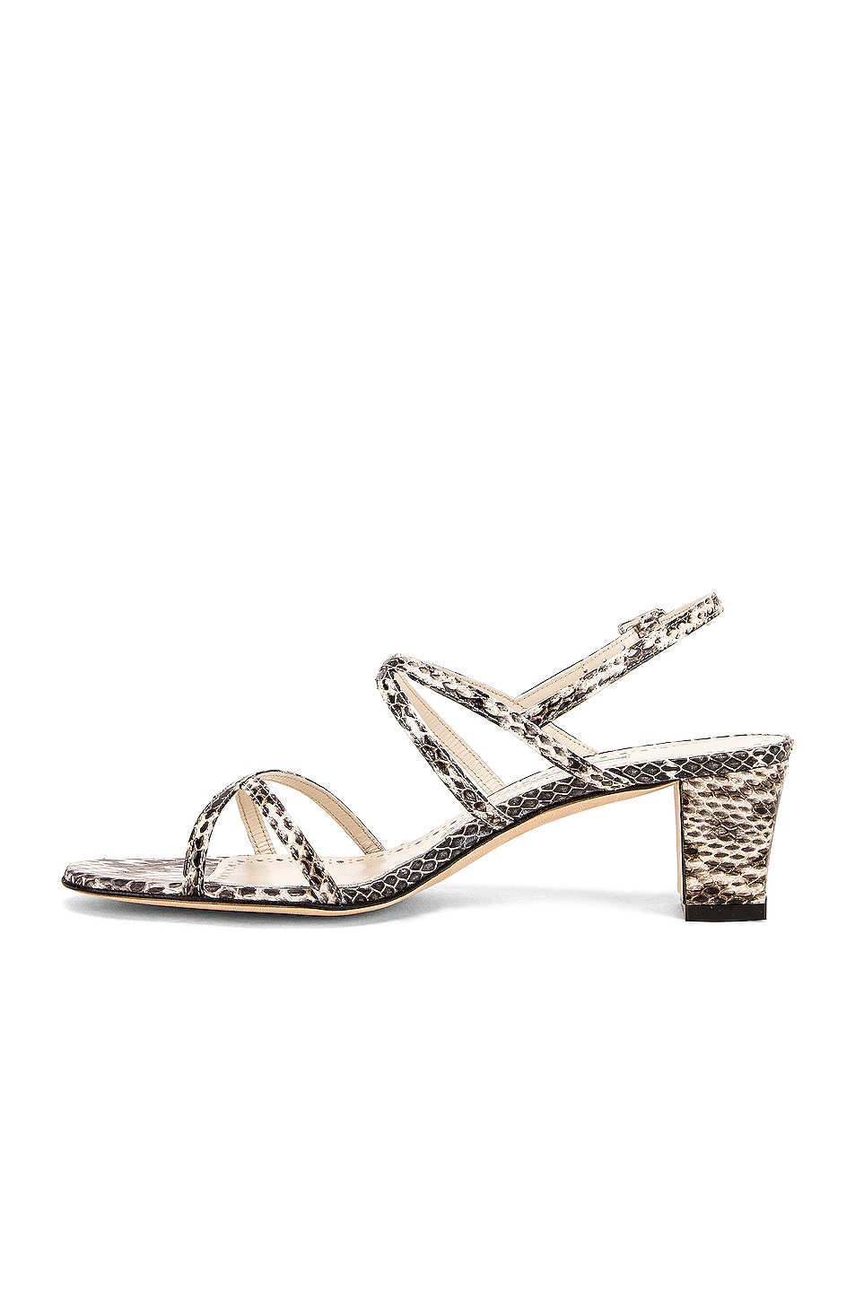 Image 5 of Manolo Blahnik Amata 50 Sandal in Milk