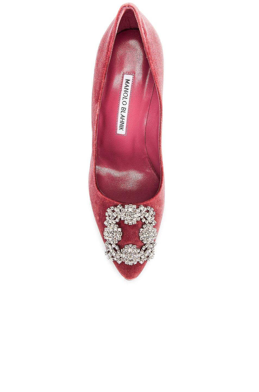 Image 4 of Manolo Blahnik Hangisi 105 Heel in Pink